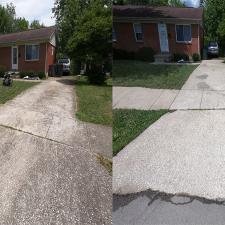 Complete Concrete Cleaning Porch Wash on Hialeiah Ct in Lexington KY 1