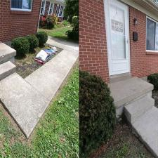 Complete Concrete Cleaning Porch Wash on Hialeiah Ct in Lexington KY 2