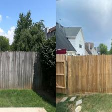 Complete Fence Cleaning & Brightening on Green Park Ct in Lexington, KY