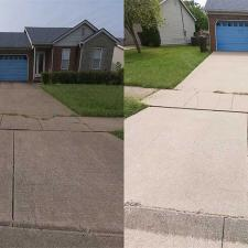 House Wash and Driveway Cleaning on Powhatan Trail in Versailles KY 03