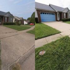 House Wash and Driveway Cleaning on Powhatan Trail in Versailles KY 04