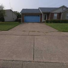 House Wash and Driveway Cleaning on Powhatan Trail in Versailles KY 08